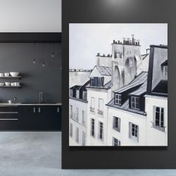 Canvas 48 x 60 - Historical buildings