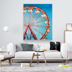 Canvas 48 x 60 - Ferris wheel by a beautiful day