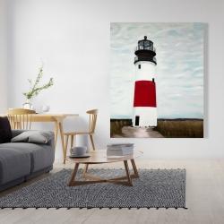 Canvas 48 x 60 - Sankaty head lighthouse