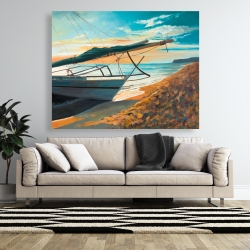 Canvas 48 x 60 - Peaceful seaside