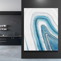 Canvas 48 x 60 - Round geode