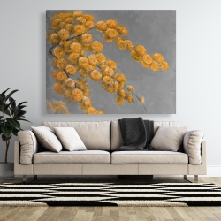 Canvas 48 x 60 - Golden wattle plant