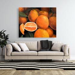 Canvas 48 x 60 - Fresh oranges