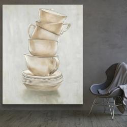 Canvas 48 x 60 - Coffee mugs