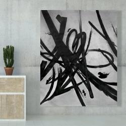 Canvas 48 x 60 - Circular strokes