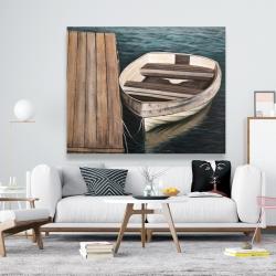 Canvas 48 x 60 - Rowboats