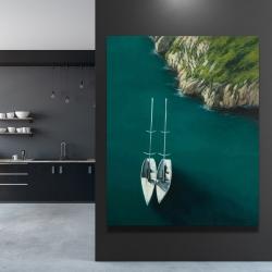 Canvas 48 x 60 - Smooth sailing