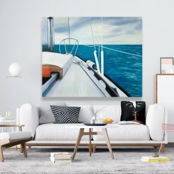 Canvas 48 x 60 - Sail on the water
