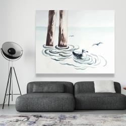 Canvas 48 x 60 - Seagull