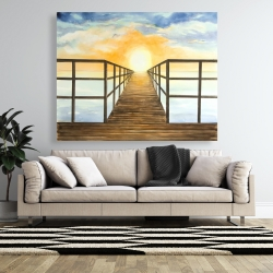 Canvas 48 x 60 - Sunset in the sea