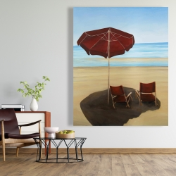 Canvas 48 x 60 - Relax at the beach