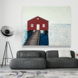 Canvas 48 x 60 - Boathouse