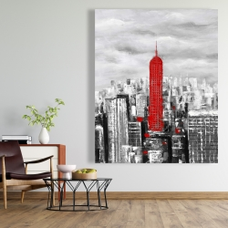 Canvas 48 x 60 - Empire state building of new york