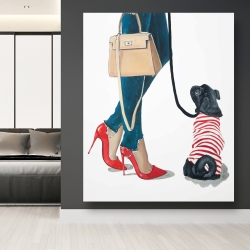 Canvas 48 x 60 - Best friends fashion