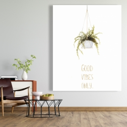 Canvas 48 x 60 - Good vibes only