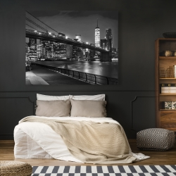 Canvas 48 x 60 - City under the night