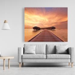 Canvas 48 x 60 - Sea villas