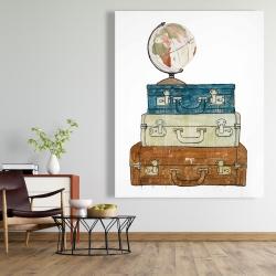 Canvas 48 x 60 - Go around the world