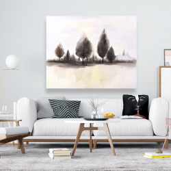 Canvas 48 x 60 - Landscape of trees