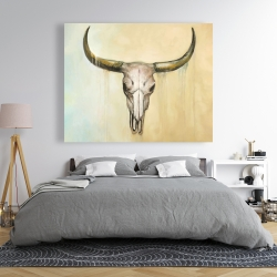 Canvas 48 x 60 - Cow skull