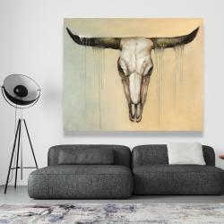Canvas 48 x 60 - Bull skull