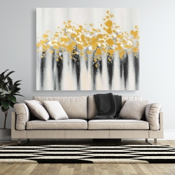 Canvas 48 x 60 - Small golden spots