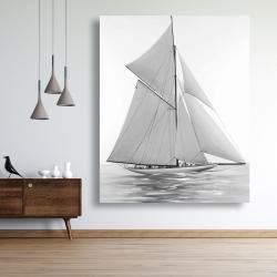 Canvas 48 x 60 - Sailing ship