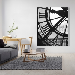 Canvas 48 x 60 - Clock at the orsay museum