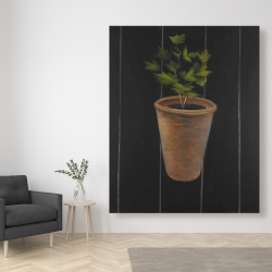 Canvas 48 x 60 - Plant of parsley