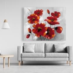 Canvas 48 x 60 - Anemone flowers