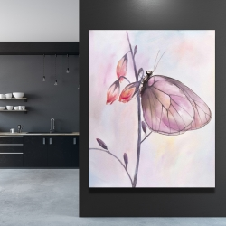 Canvas 48 x 60 - Delicate butterfly