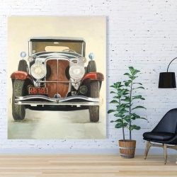 Canvas 48 x 60 - Vintage luxury car