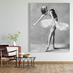 Canvas 48 x 60 - Classic ballet dancer