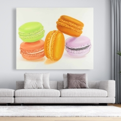 Canvas 48 x 60 - Small bites of macaroons