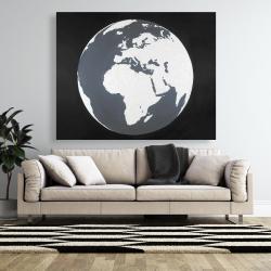 Canvas 48 x 60 - Earth