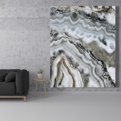 Canvas 48 x 60 - Abstract geode