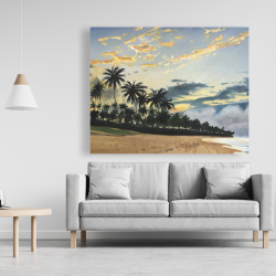 Canvas 48 x 60 - Tropical summer moments
