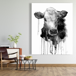 Canvas 48 x 60 - Jersey cow