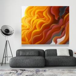 Canvas 48 x 60 - Colorful smoke