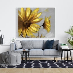 Canvas 48 x 60 - Mountain arnica flowers
