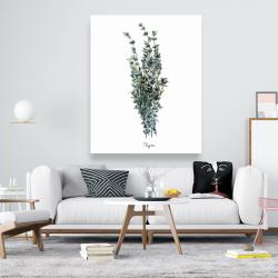 Canvas 48 x 60 - Thyme leaves bundle - fr