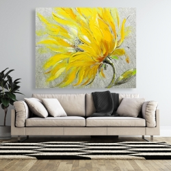 Canvas 48 x 60 - Yellow flower
