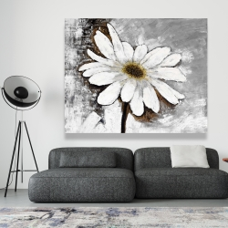 Canvas 48 x 60 - Abstract daisy