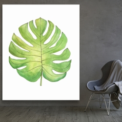 Canvas 48 x 60 - Tropical leaf