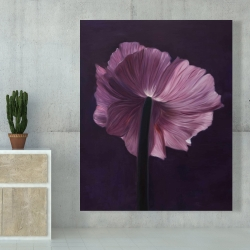 Canvas 48 x 60 - Purple petals