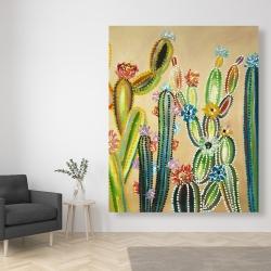 Canvas 48 x 60 - Desert gems