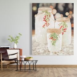 Canvas 48 x 60 - Christmas candles
