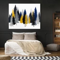 Canvas 48 x 60 - Golden fir
