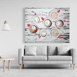 Canvas 48 x 60 - Holiday hot chocolate