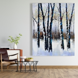 Canvas 48 x 60 - Frosted trees